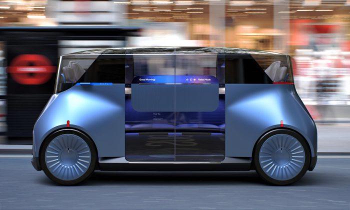 PriestmanGoode navrhli pro Londýn autonomní vozidlo nahrazující taxislužbu