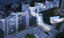 Studentské rezidence Hong Kong University of Science and Technology odZaha Hadid Architects