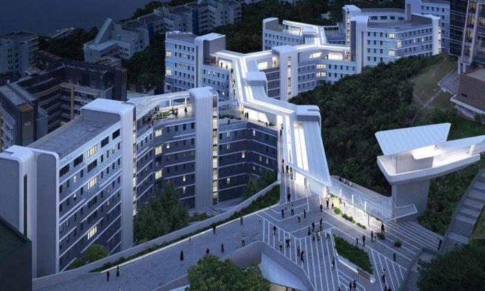 Zaha Hadid Architects postaví futuristické koleje pro Hongkongskou univerzitu
