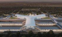 Vítězný návrh vysokorychlostního terminálu Praha východ odOV-A