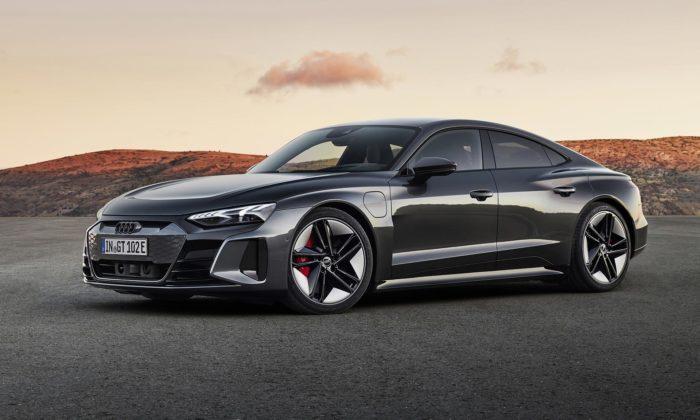Audi e-tron GT jeelektrické kupé sesuper zrychlením adesignem plným emocí