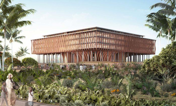 Kéré navrhl pro Benin budovu Národního shromáždění podobající sestromu
