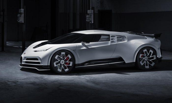 Bugatti postavilo prototyp Centodieci připravující model pro sériovou výrobu
