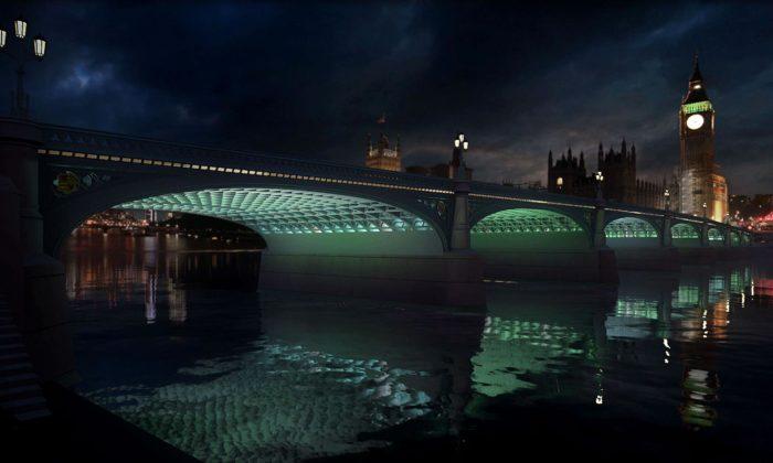 Londýn barevně rozsvítí dalších pět mostů vrámci projektu Illuminated River