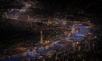 Londýnský projekt osvětlování mostů Illuminated River