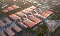 International Exhibition Centre v Pekingu od Zaha Hadid Architects