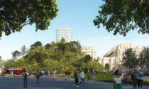 Marble Arch Hill v londýnském Hyde Parku od MVRDV