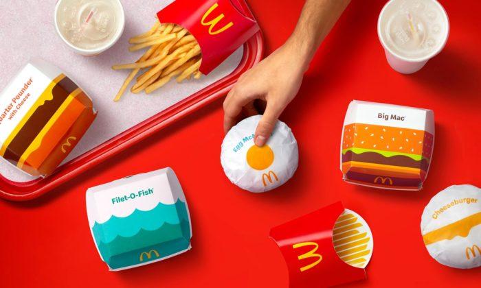 Pearlfisher navrhl hravý obalový design pro McDonald'smířící docelého světa