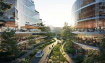 Plán města budoucnosti vChengdu odOMA