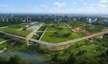 Plán města budoucnosti v Chengdu od OMA