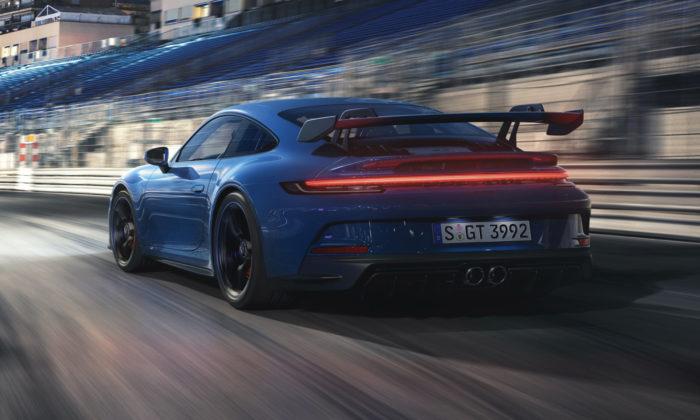 Porsche 911 GT3 dostalo vsedmé generaci nový design aaerodynamické prvky