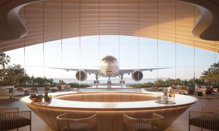 Foster + Partners postaví letiště Red Sea Airport inspirované pouštními dunami