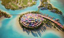 Plánovaná resort Shurayrah vrudém moři