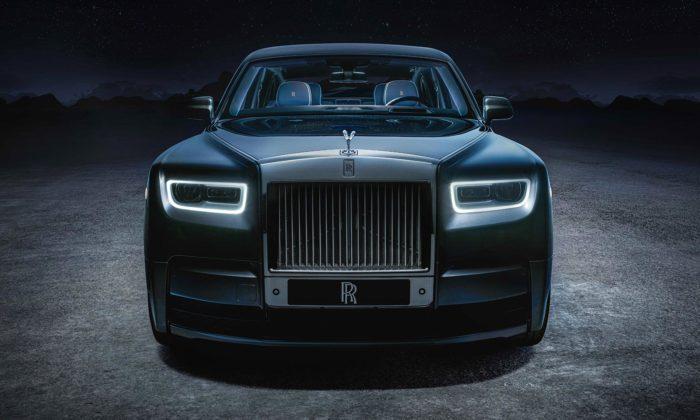 Rolls-Royce Phantom Tempus Collection jelimitovaná verze skusem vesmíru uvnitř