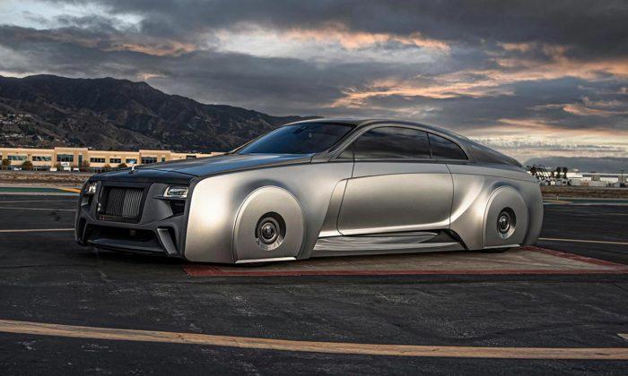Rolls-Royce Wraith dostal odWest Coast Customs jedinečný monolitický design