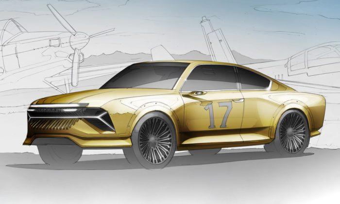 Designér ze Škoda Auto navrhl moderní interpretaci závodní Škody 130 RS
