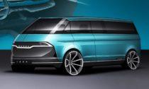 Vize nové podoby vozu Škoda 1203