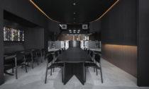Snøhetta a interiér restaurace  Tokyo Burnside