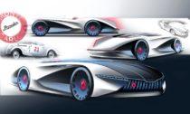 Futuristická vize modelu Škoda Popular Monte Carlo