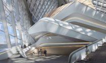 Zhuhai Jinwan Civic Art Centre od Zaha Hadid Architects
