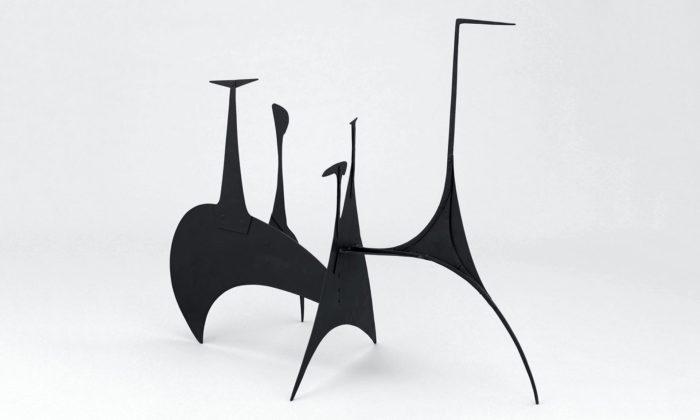 MoMA otevírá velkou retrospektivní výstavu sochaře Alexandera Caldera