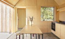 Field House ve Švédsku od Lookofsky Architecture