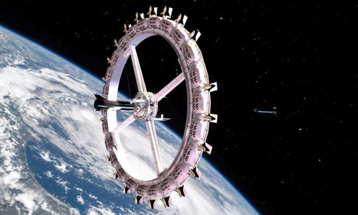 V roce 2027 semá otevřít první vesmírný hotel pro 440 hostů