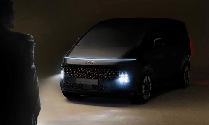 Hyundai odhaluje MPV jménem Staria spojující styl 80.let sfuturistickými prvky