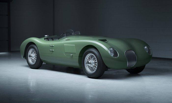 Jaguar obnoví výrobu 70 let starého sportovního modelu C-Type