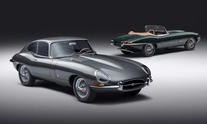 Jaguar slaví 60 let sporťáku E-Type restaurováním 12 původních kusů