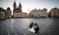 Kříže na Staroměstském náměstí v Praze