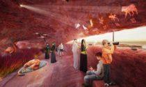 Návštěvnické centrum rezervace plameňáků v Abu Dhabi od ateliéru Petr Janda Brainwork