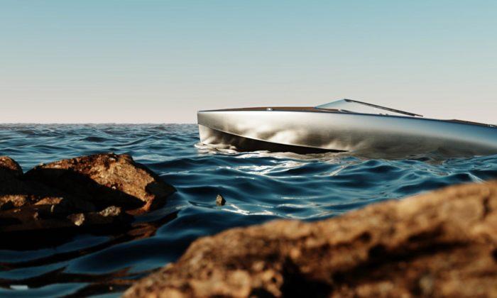 Sarvo37 jedánský elektrický motorový člun vyrobený zrecyklovaného hliníku