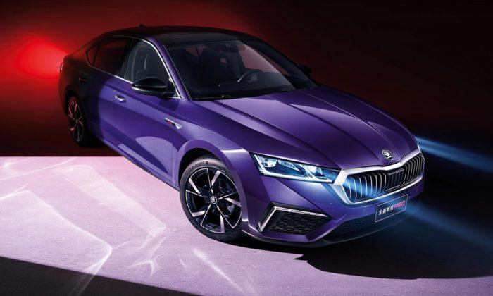 Škoda Octavia Pro jespeciálně upravená čtvrtá generace určená pro Čínu