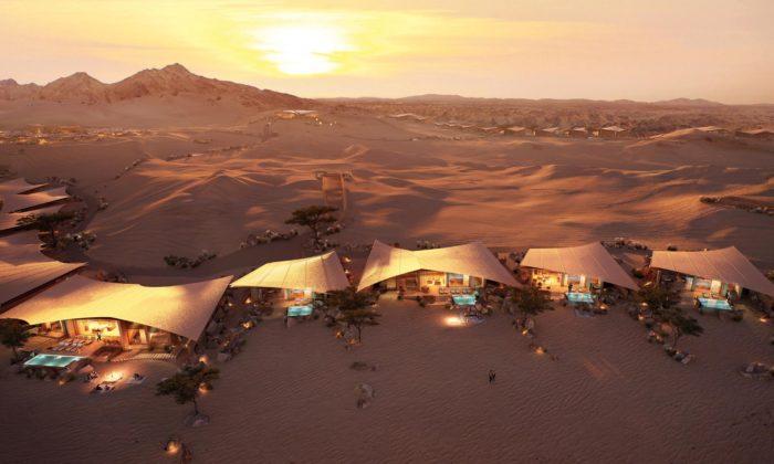 Foster navrhl dosaúdskoarabské poušti rekreační vily Southern Dunes