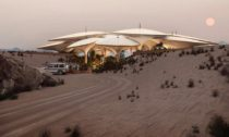 Hotel Southern Dunes od Foster + Partners pro The Red Sea Project