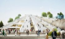 Projekt The Pyramid of Tirana podle MVRDV