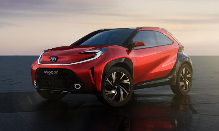 Toyota navrhla malé vozítko Aygo X Prologue svelmi výstředním designem