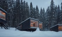 Rekreační domky Ark Shelter pro slovenský hotel Björnson