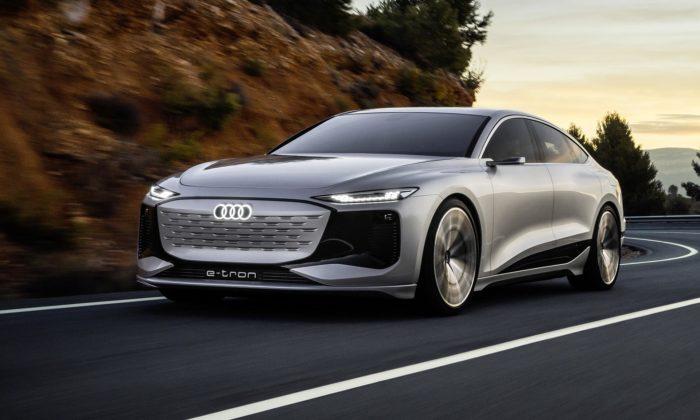 Audi ukazuje konceptem sedanu A6 e-tron concept svou brzkou budoucnost