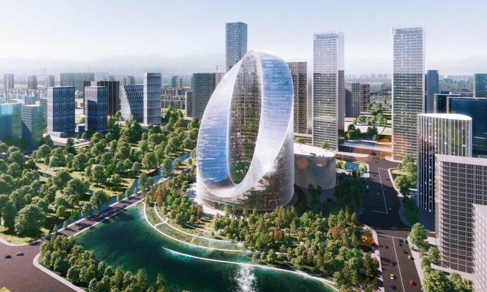 BIG postaví značce Oppo futuristické vývojové avýzkumné centrum