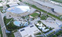 CKA Arena a park v Petrohradě