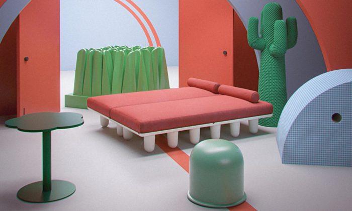 Different Tendencies jevirtuální výstava italského designu zlet 1960 až 1980
