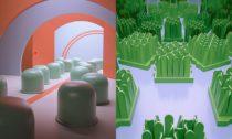 Ukázka z výstavy Different Tendencies s podtitulem Italský design 1960-1980