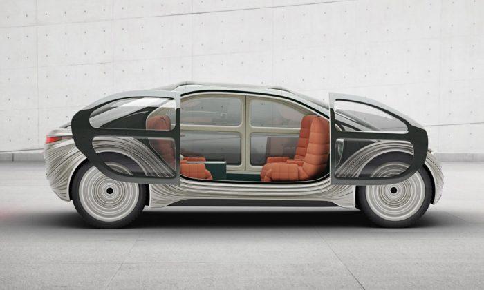 Heatherwick navrhl futuristický koncept auta Airo pro značku IM Motors
