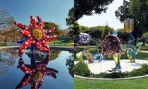 Yayoi Kusama a ukázka za výstavy Cosmic Nature