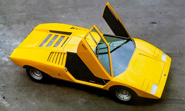 Přísně hranaté Lamborghini Countach LP 500 slaví velké výročí 50 let