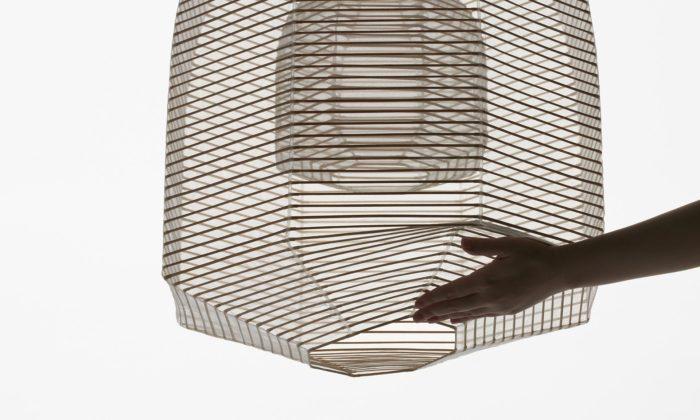 Nendo navrhlo moderní kolekci japonských luceren schopných měnit svůj tvar