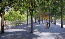 Parco Romana v Miláně po revitalizaci