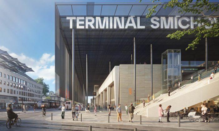 Terminál Smíchov byl schválen vupravené podobě aotevře sevroce 2026